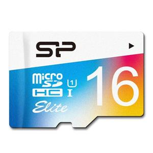 Silicon Power Elite Color UHS-I 85MBps MicroSDHC 16GB
